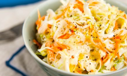 Coleslaw saláta könnyedén