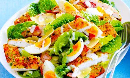 Az isteni Cézár-saláta