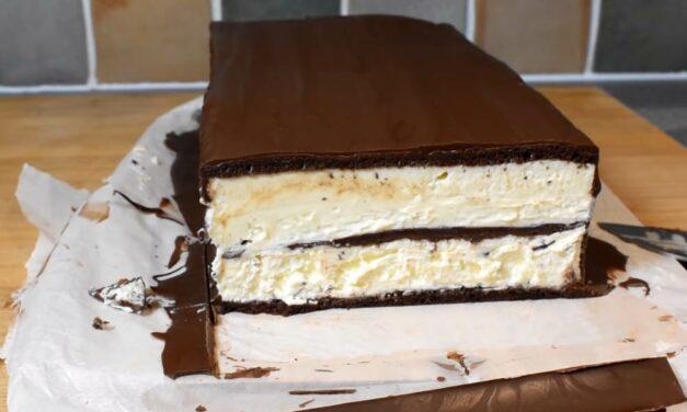 Így készíts óriási Kinder Pingui süteményt