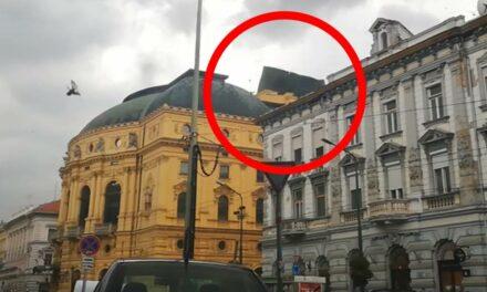 Brutális vihar csapott le Szegedre! A nemzeti színház tetejét is levitte (VIDEÓ)