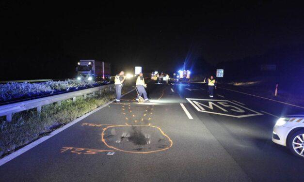 Többen meghaltak az M5-ösön hétfő hajnalban. Lezárták az autópályát