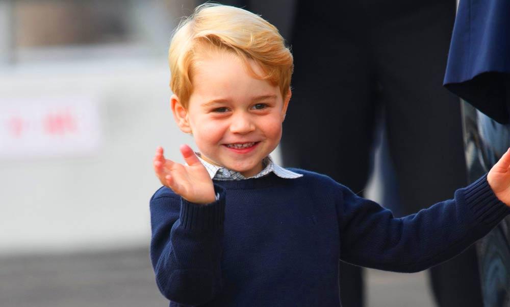 Cukiság! Így szurkol kedvenc csapatának György herceg