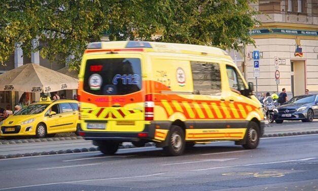 Beszakadt egy épülő üzemcsarnok tetőszerkezete Debrecenben – többen megsérültek