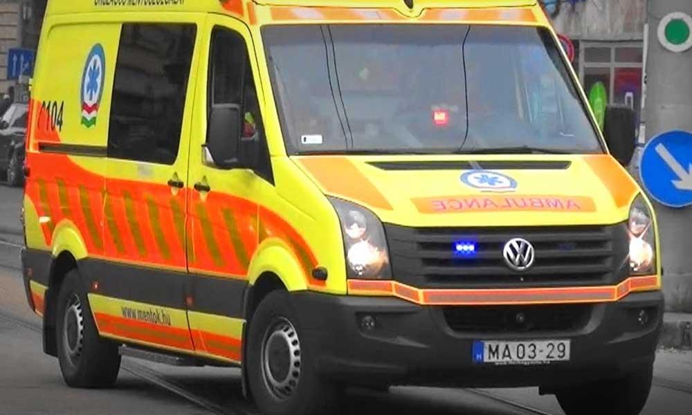 Összeesett és meghalt a mentős