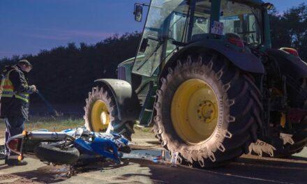 Halálos tragédia a spárga magyar hazájában: Traktornak csapódott a motoros