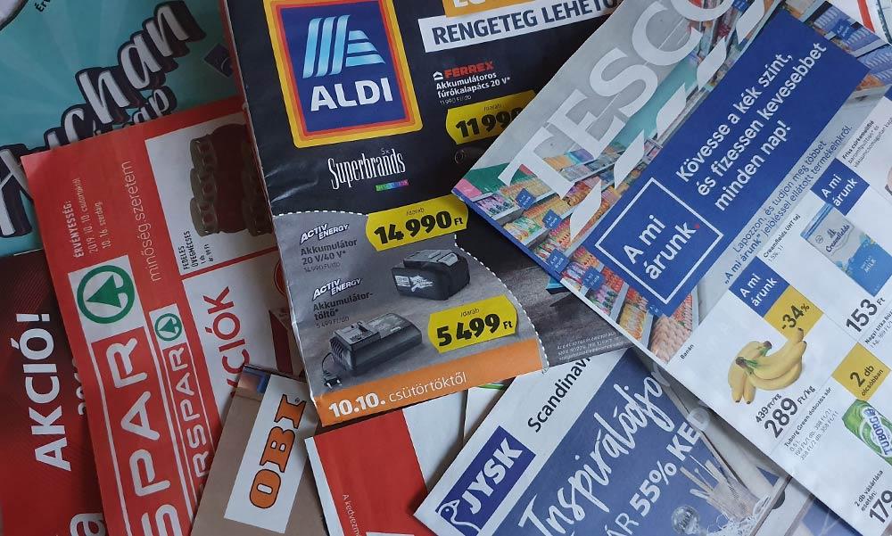 Szuper árakkal hívogatják a háziasszonyokat a bevásárlóközpontok
