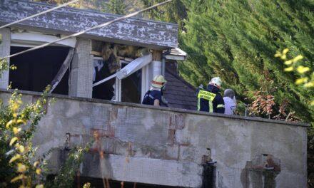 Gázrobbanás! Mentőhelikopter is érkezett a súlyos égési sérült miatt
