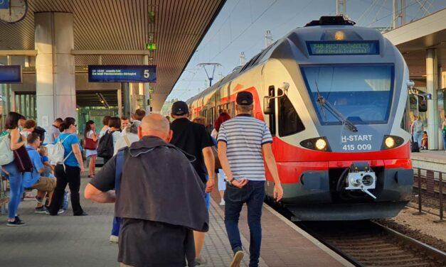 Az utasok egy topgazdag magyar vagyonát bliccelték össze a MÁV-on
