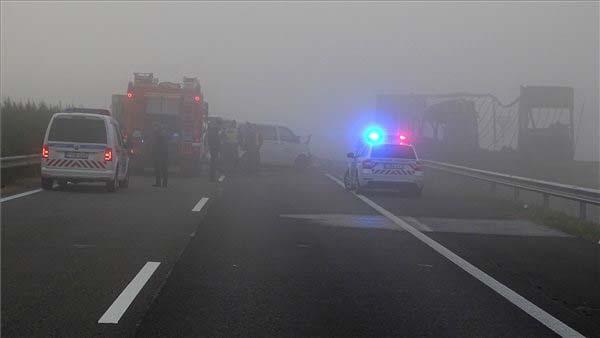 Azonosították az M5-ös autópályán történt baleset hét áldozatát