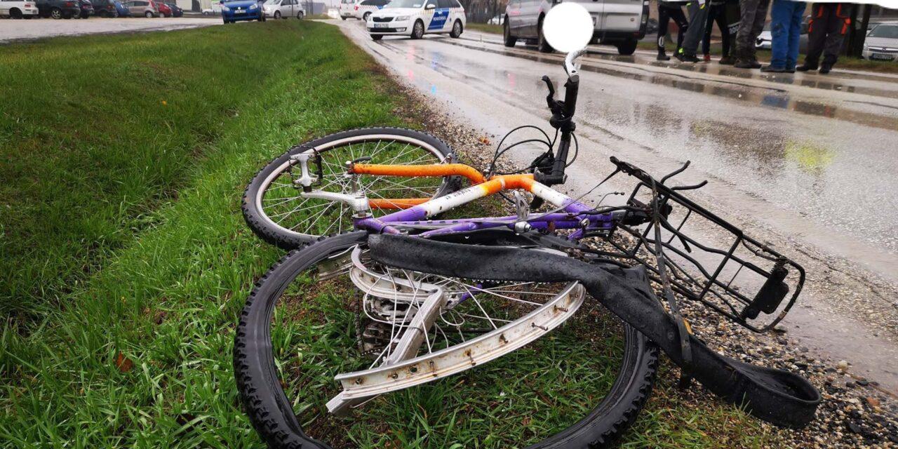 Halálra gázoltak egy kerékpárost -frissítve