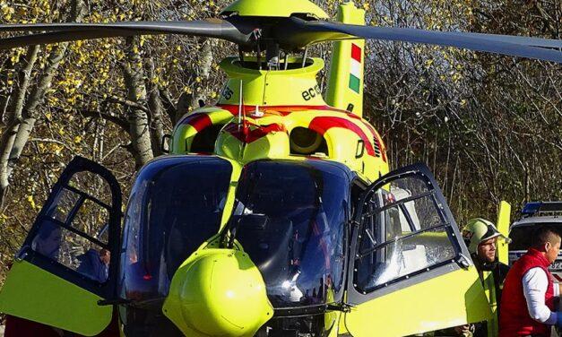 Halálos baleset Veszprém megyében – két utas bennégett az autóban
