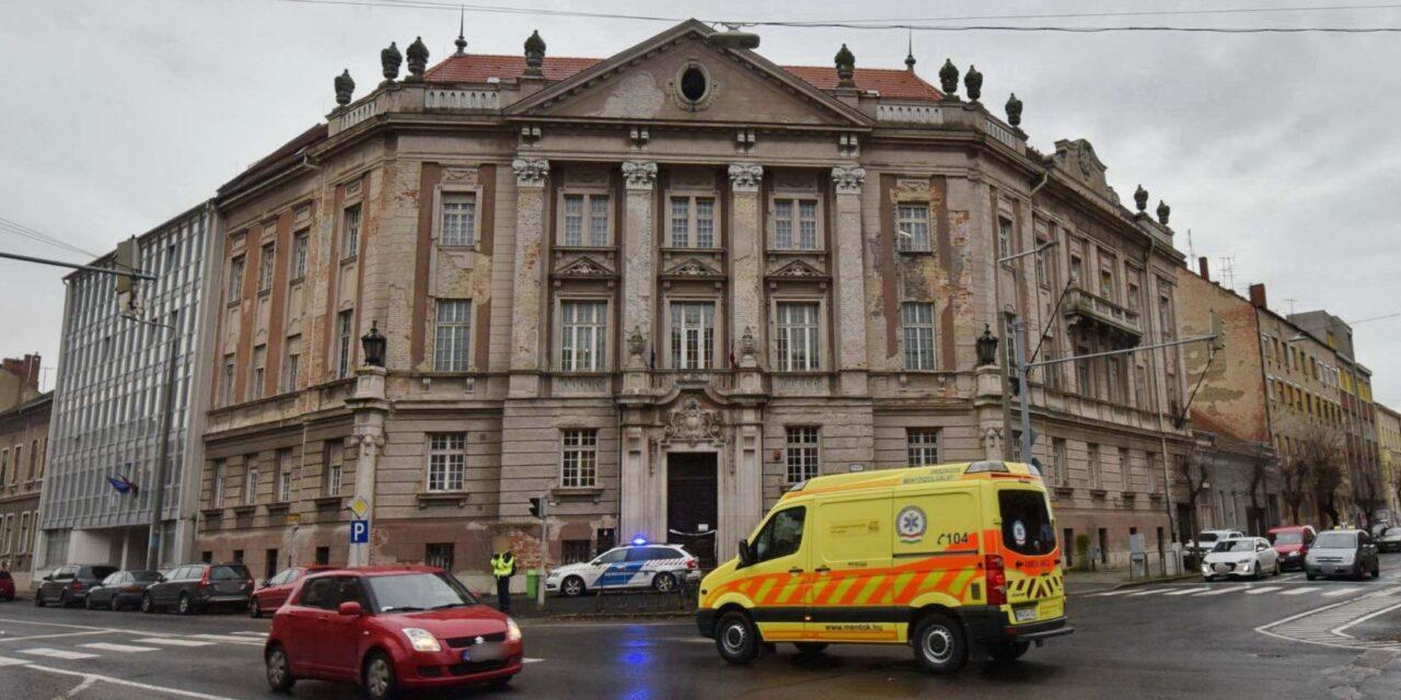 Holttestet találtak Szombathelyen az egyik állami hivatalban