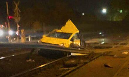 Vecsési vonatbaleset: összeomlott a taxisofőr, hajszálon múlt az élete