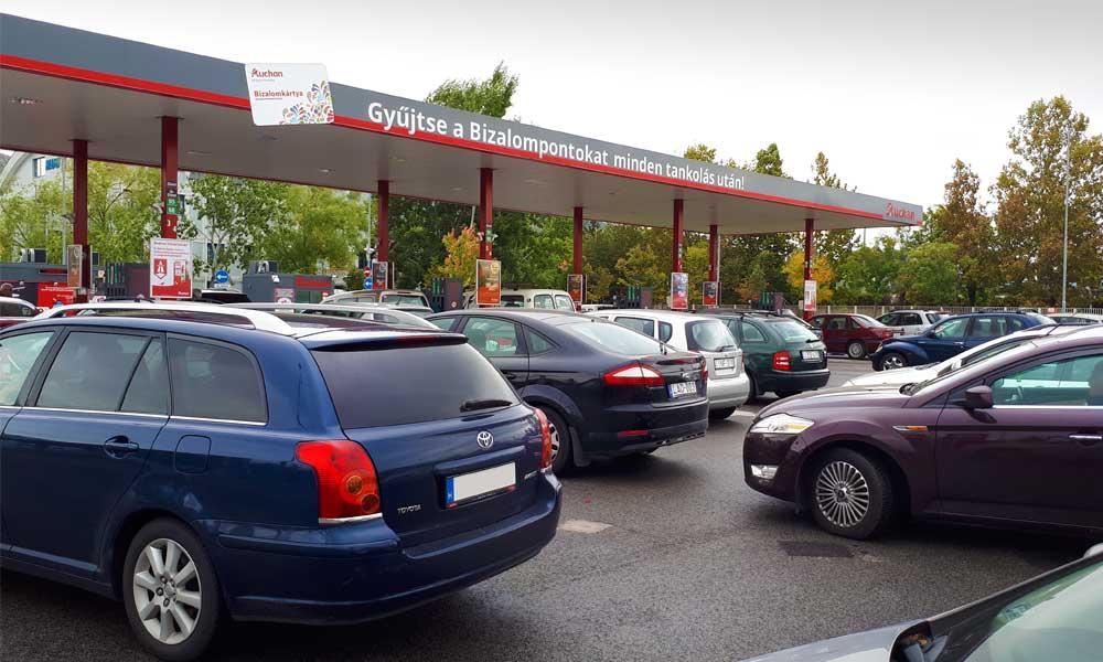 Aldi benzinkút ár