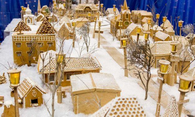 Mézeskalácsból építették fel településüket a kisváros lakói