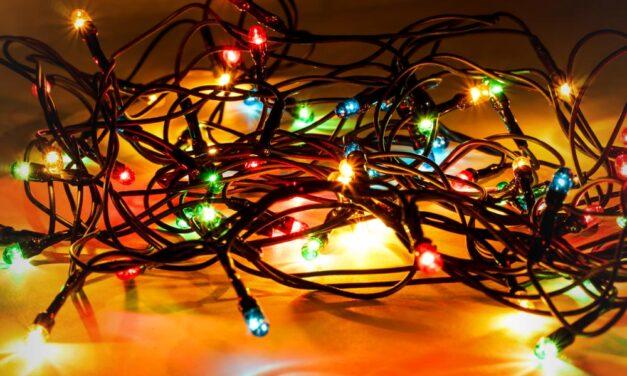 Vigyázat! Sok karácsonyi fényfüzér nem biztonságos