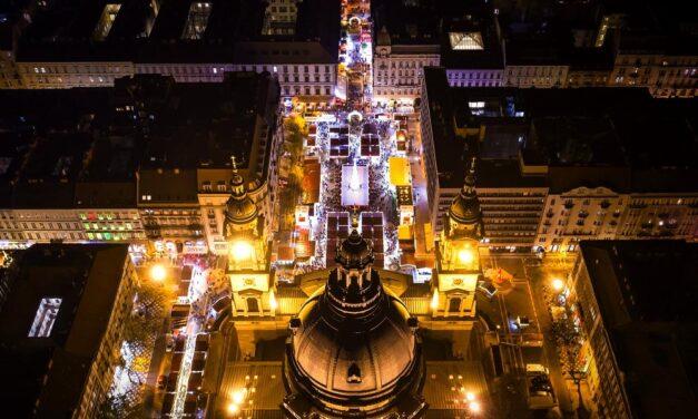 Budapesten a Bazilika előtti vásár lett Európa legszebb karácsonyi vására