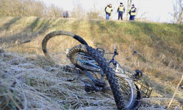 Halálra gázoltak egy kerékpárost – elterelik a forgalmat
