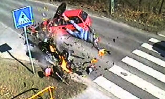 Szétszakadt a motor az ütközéskor – Tragikus baleset szomorú tanulságokkal