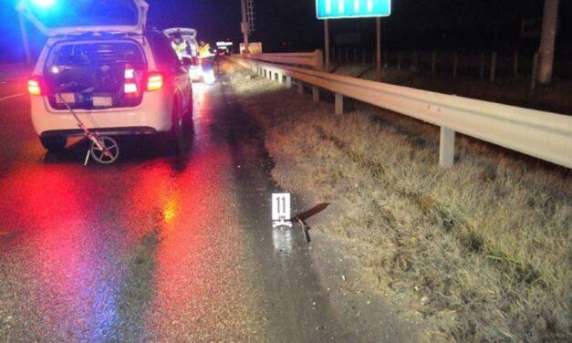 Az M5-ösön gyalogolt – halálra gázolták