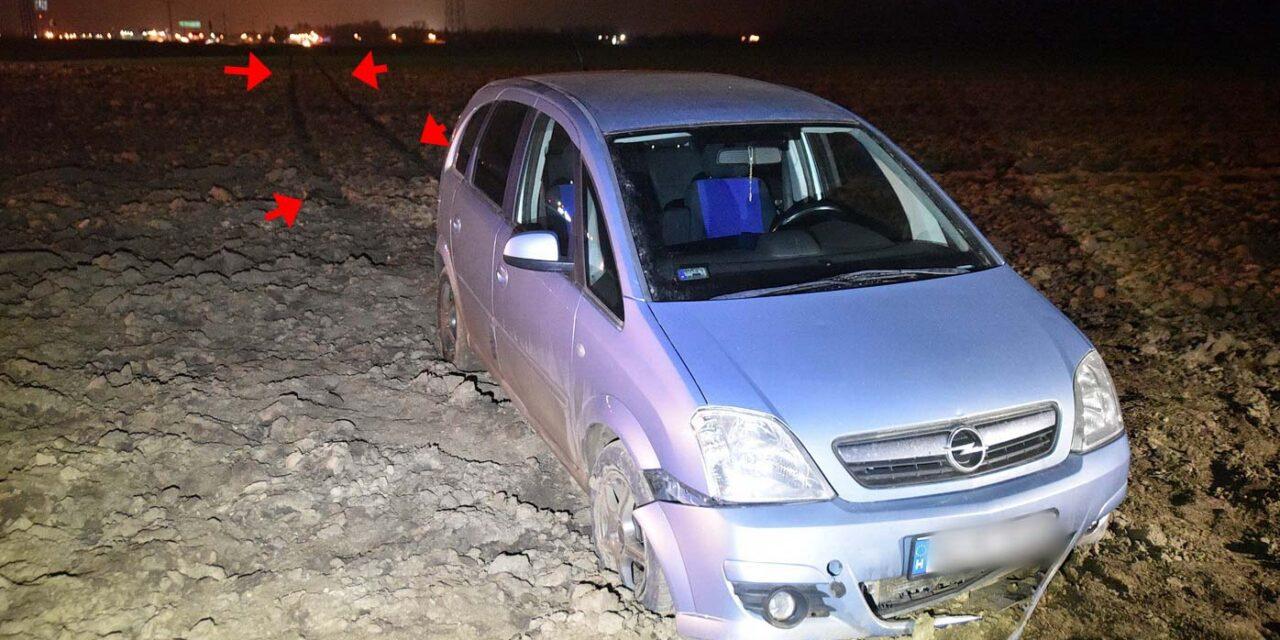 Rosszul lett a mentős az autójában – 350 métert haladt irányítás nélkül