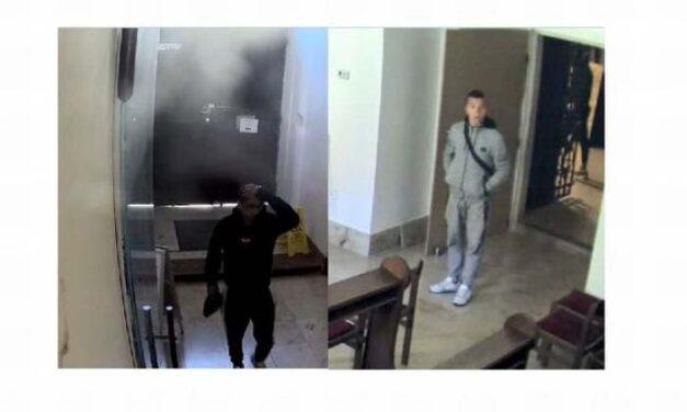 Táskát loptak a győri templomból – keresik az elkövetőket