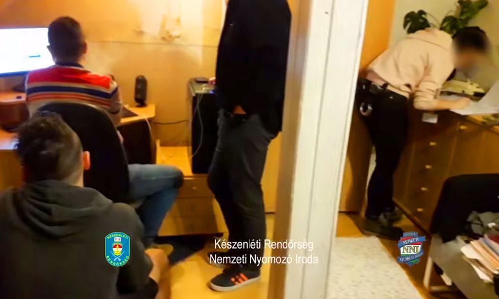 Álhíreket terjesztő, pofátlan zugszerkesztőségre csaptak le a rendőrök
