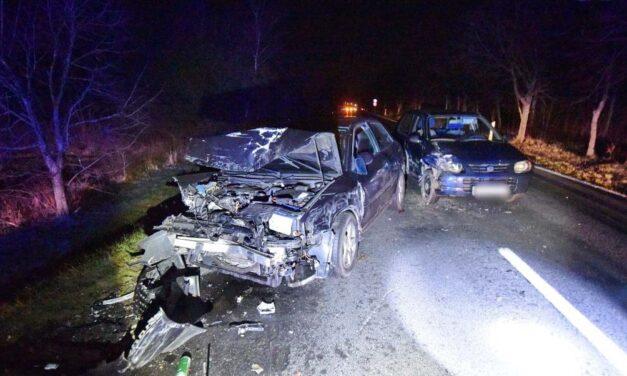 Négy autó ütközött egy őz miatt Vas megyében