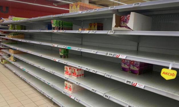 Korlátozza a Tesco egyes élelmiszerek vásárlását