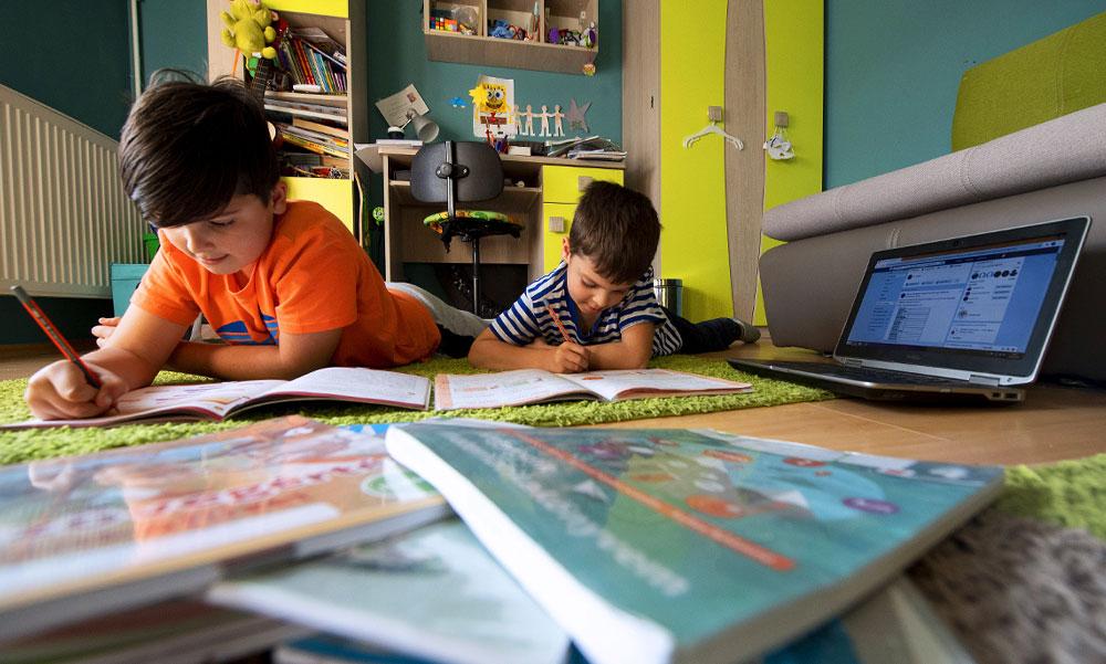 """Digitális oktatás: """"Amióta így tanulunk, még a matekot is megszerettem"""""""