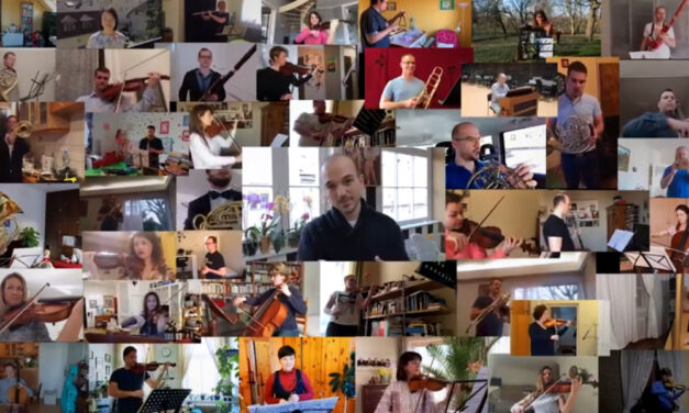 Látványos karanténvideó: Külön vannak, mégis együtt játszik az óbudai zenekar