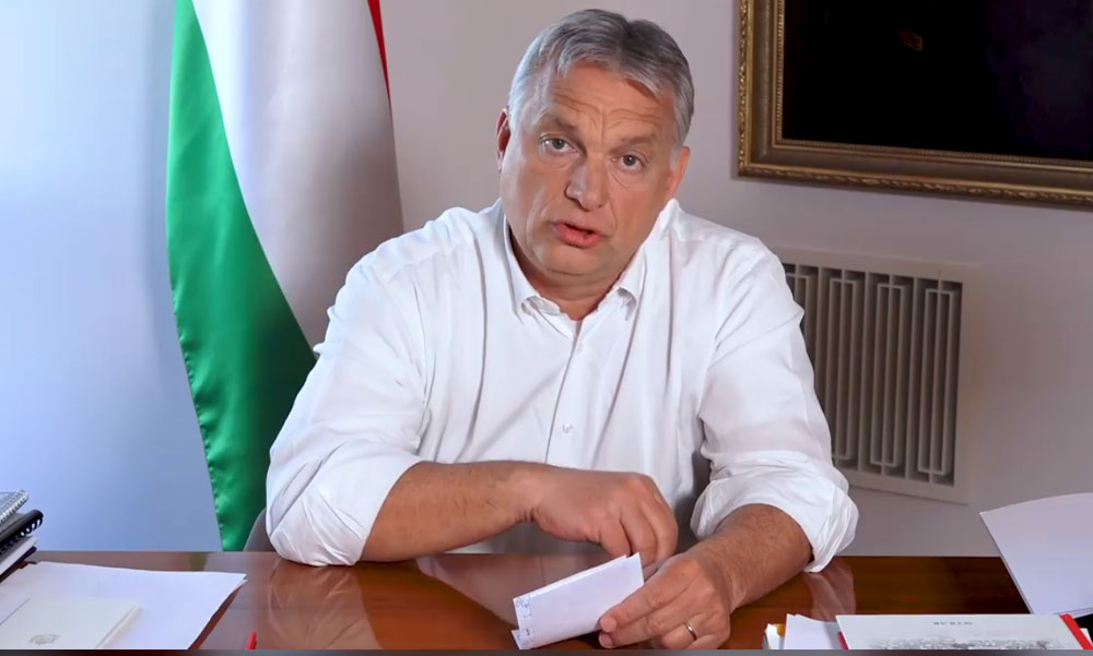 Orbán bejelentette: újra életbe lép a rendkívüli jogrend, kijárási korlátozás is lesz megint