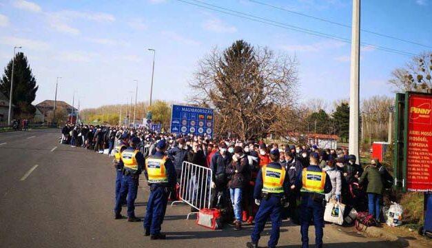 Záhonyban ragadhatnak az ukrán vendégmunkások