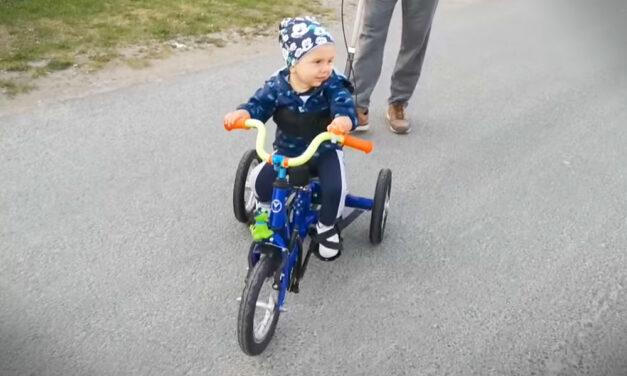 Segített a szupergyógyszer, már biciklizik a kis Zente