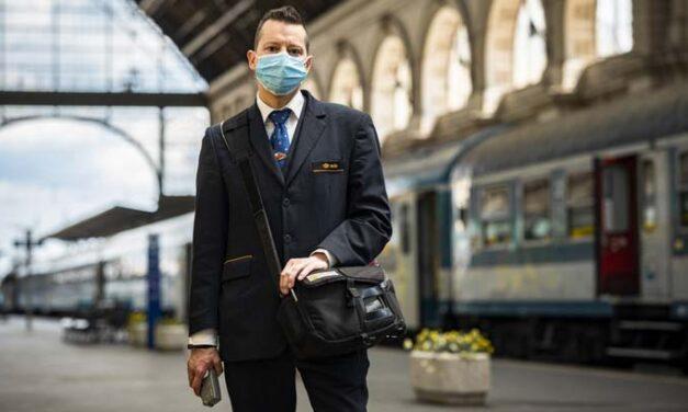 Hétfőtől csak maszkban lehet felszállni a MÁV járataira