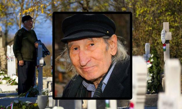 Szívszorító temetés: Megrendítő szavakkal búcsúzott unokája Szilágyi Istvántól