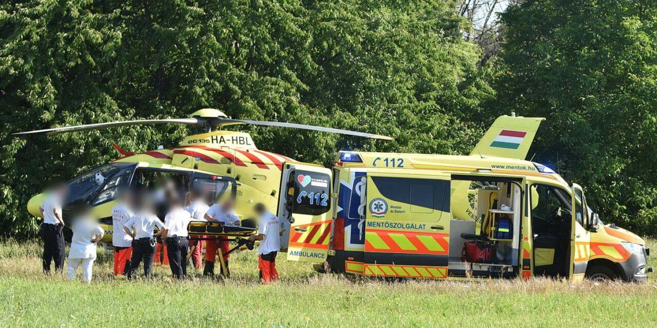 Kizuhant egy 4 éves kislány az ablakon, életveszélyes állapotba vitték kórházba