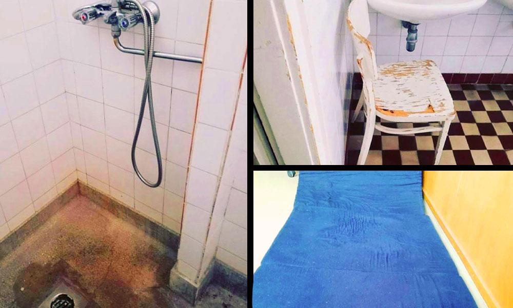 Gyalázatos állapotok: Az Orvosi Kamara képeken mutatta meg, hol kell pihenniük az orvosoknak a COVID-centrumban