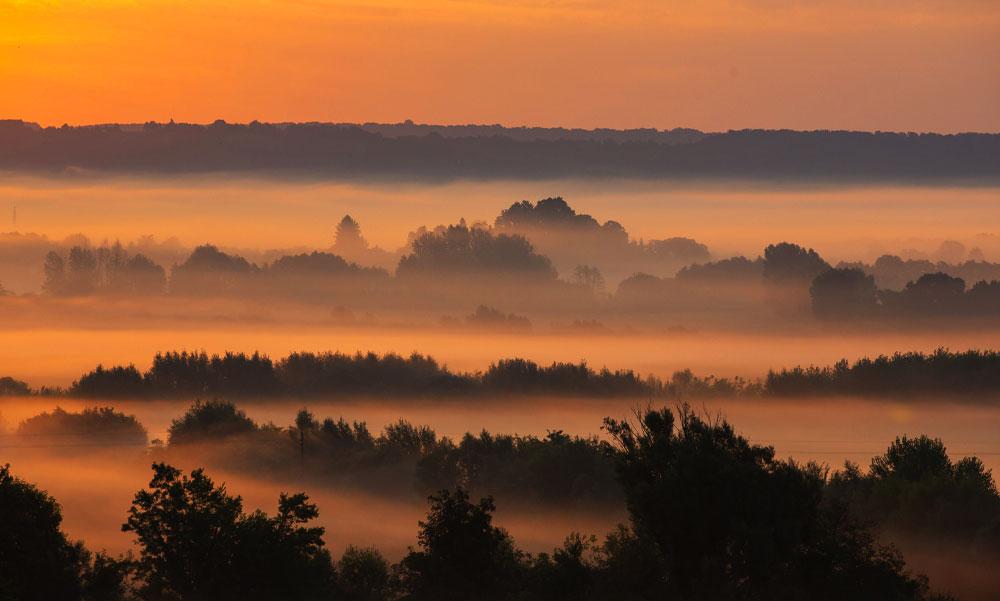 Lélegzetelállító képek Zalából, kora reggel fotózták le