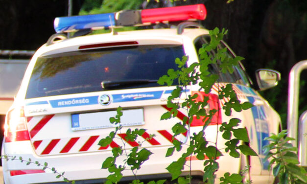 Felrobbantotta magát egy férfi Győr közelében, golyóálló mellényben vonultak ki a rendőrök