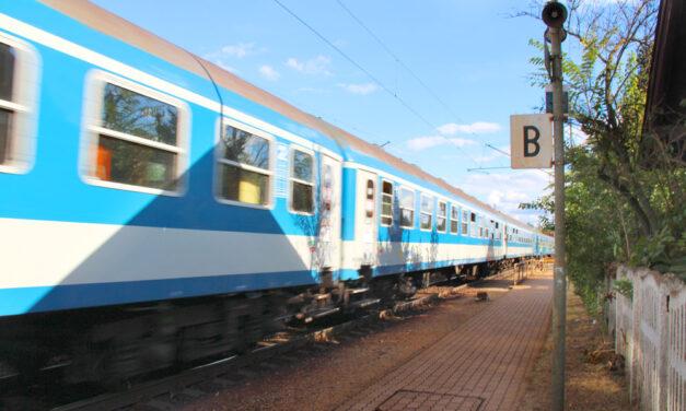 Elgázolt egy férfit a vonat Székesfehérvárnál