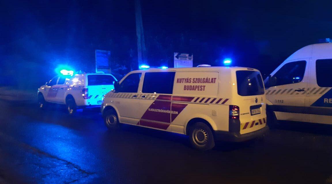 Tűz ütött ki Budapesten, egy 10. kerületi telephelyen, gázpalackok robbantak az épületben