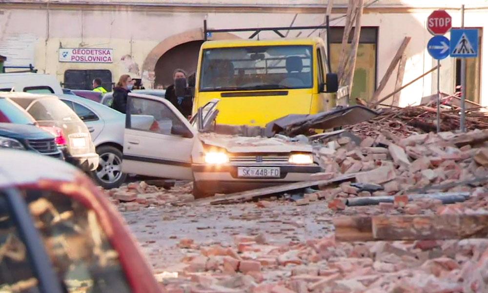 Az orgonistára ráomlott a mennyezet és a harangtorony, nem élte túl – újabb részletek a Magyarországon is érezhető horvátországi földrengésről