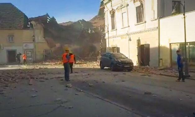 Újabb földrengés rázta meg Horvátországot – Itt vannak a részletek
