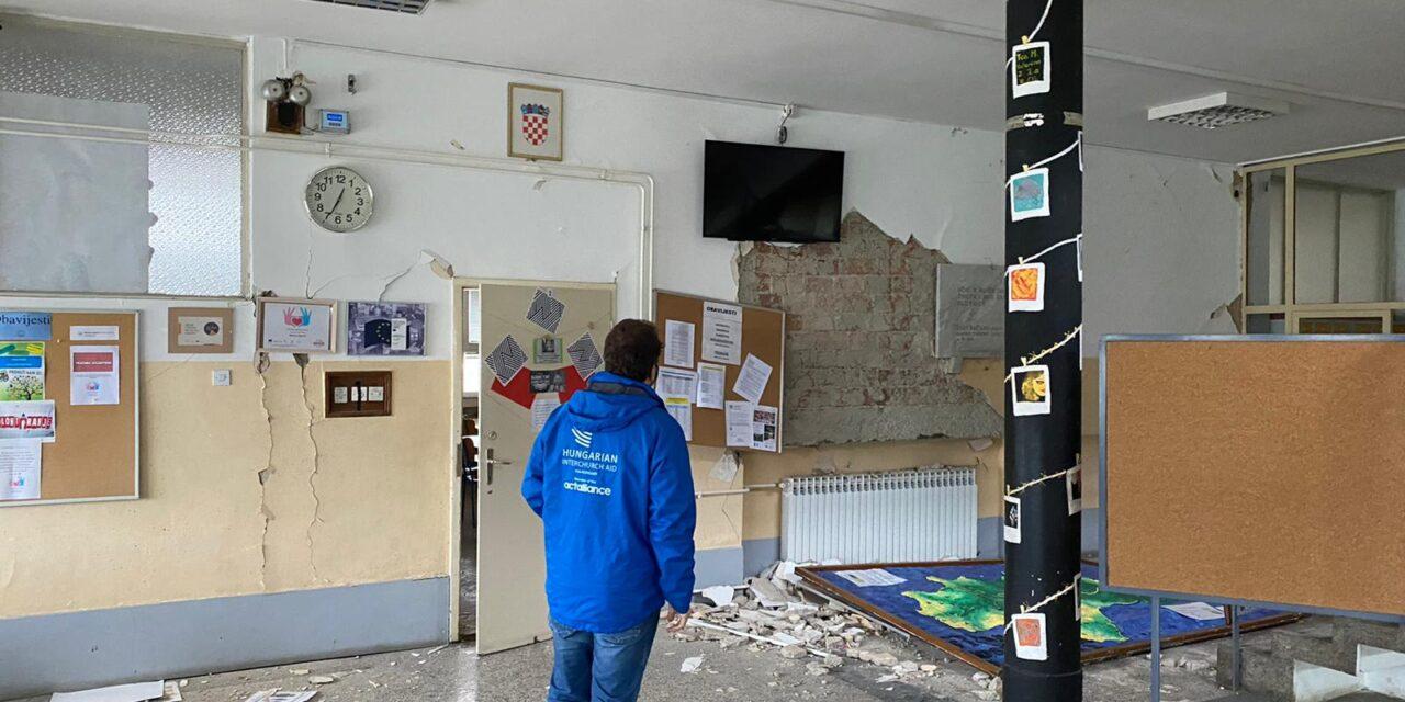 Az Ökumenikus Segélyszervezet munkatársa a horvátországi földrengés helyszínéről: Sokan mindenüket elvesztették a földrengés miatt