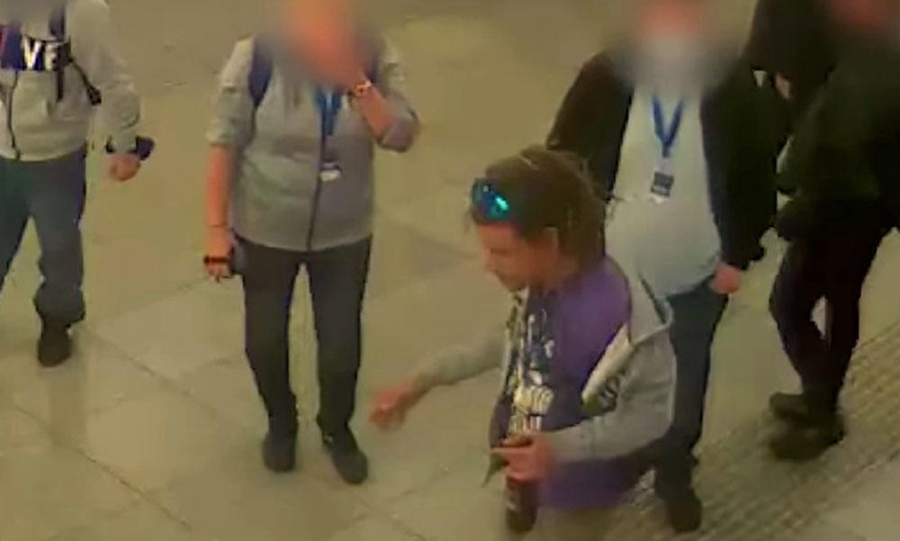 Megverte a férfi a biztonsági őrt a Keleti Pályaudvarnál, most a rendőrök keresik