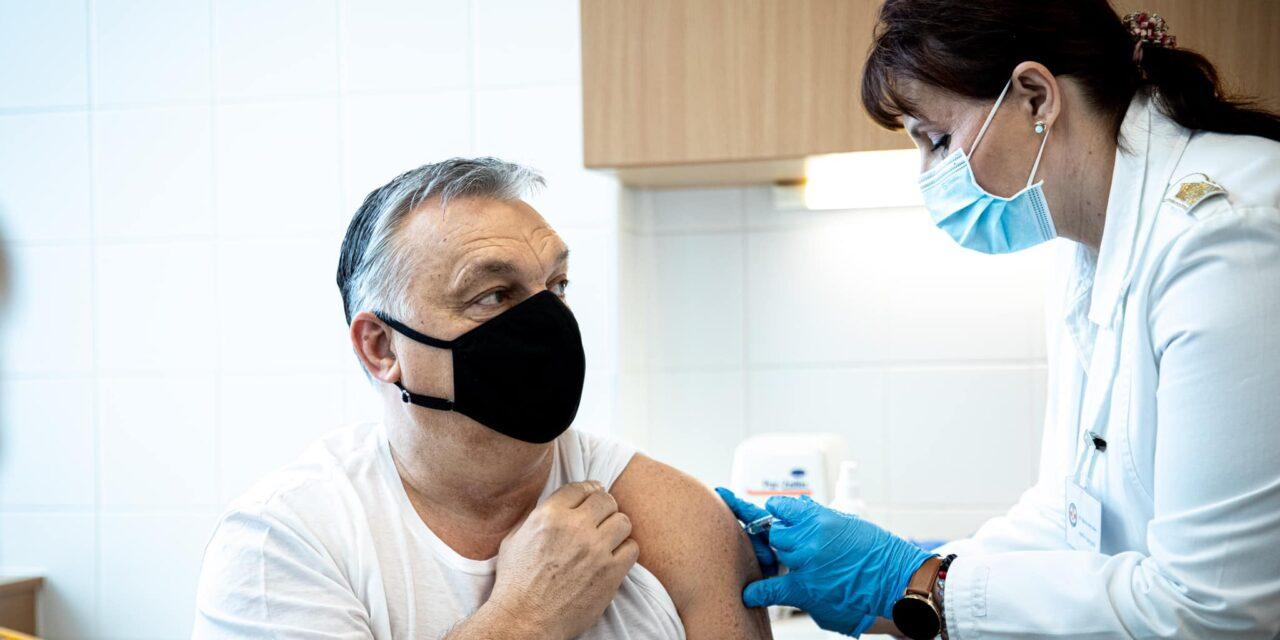 Bréking: beoltották Orbánt Viktort is- ezt a vakcinát kapta meg