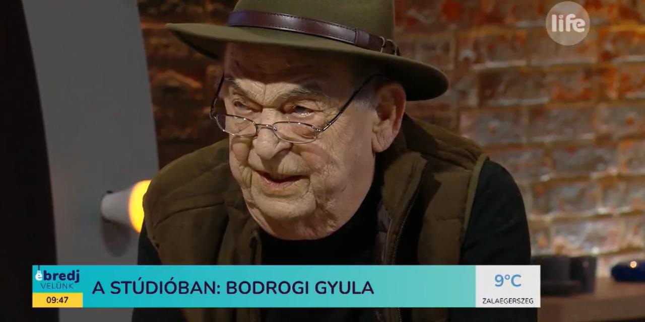 Bodrogi Gyula megkapta a koronavírus elleni vakcinát, valamint a spiritualitásról is beszélt