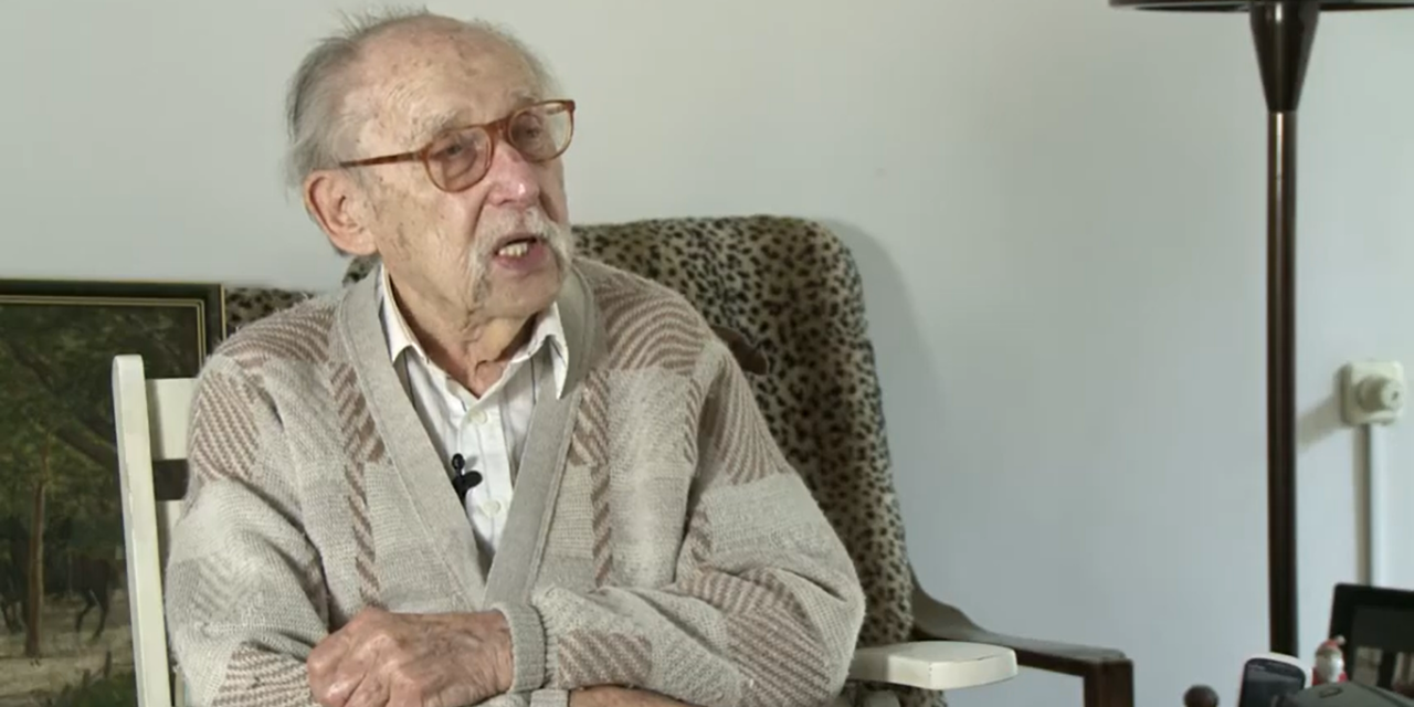 A 101 éves Tatár Imre is megkapta a Covid-19 elleni védőoltást – ezzel a vakcinával oltották be