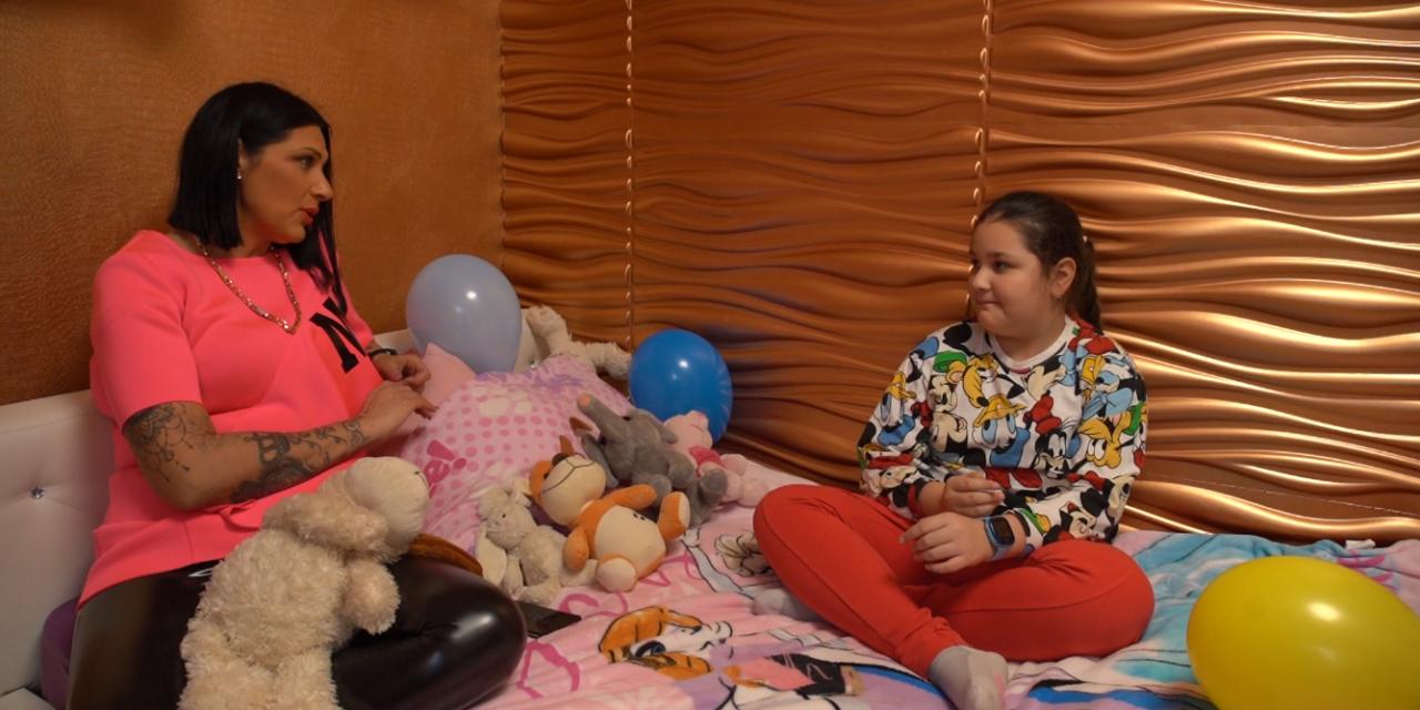 Kemény csatákat vív a lányával Jellinek Tina